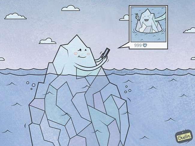Саркастические иллюстрации о проблемах современного общества