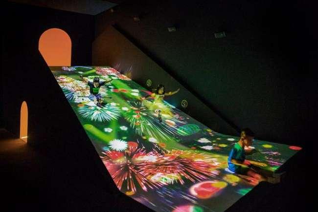 Музей цифрового искусства в Токио (14 фото)
