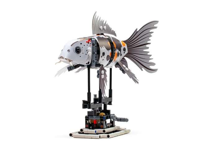 Лего и рыба
