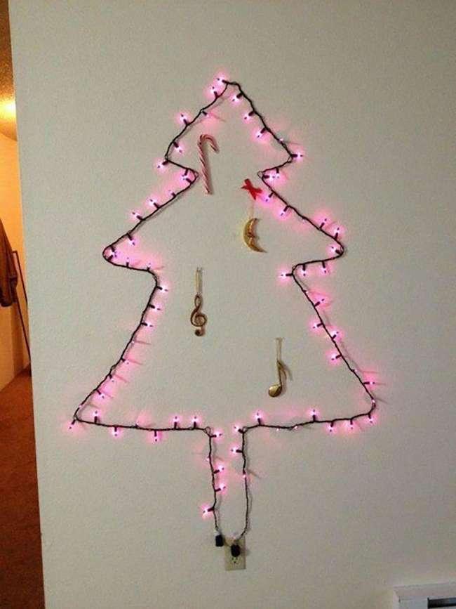 Когда лень украшать дом: 15 забавных декораций на Рождество от заядлых лентяев