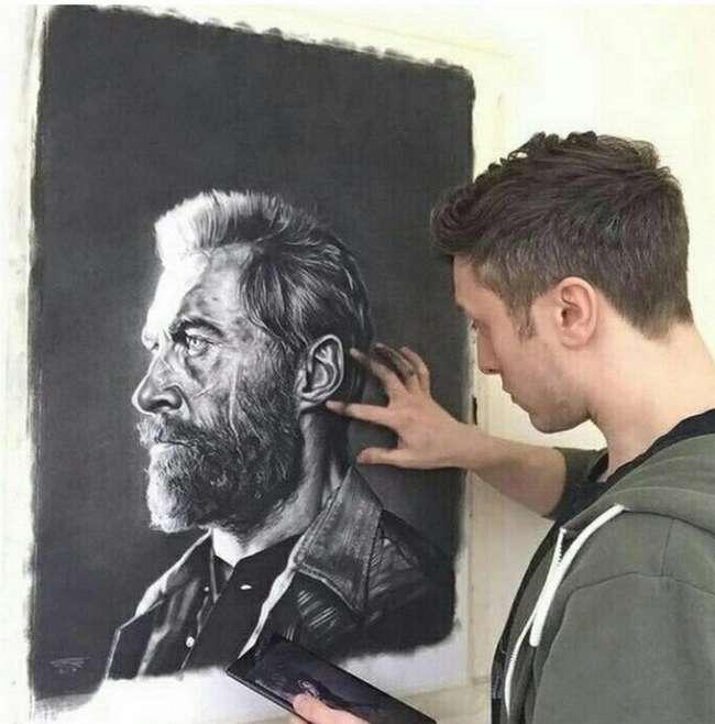 Как художник Джон Артон борется с обнаглевшими халявщики