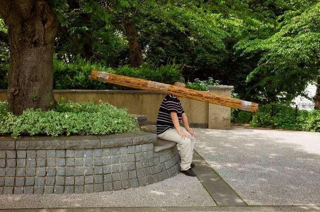 Причудливые и экстраординарные уличные фото японского фотографа Шина Ногучи