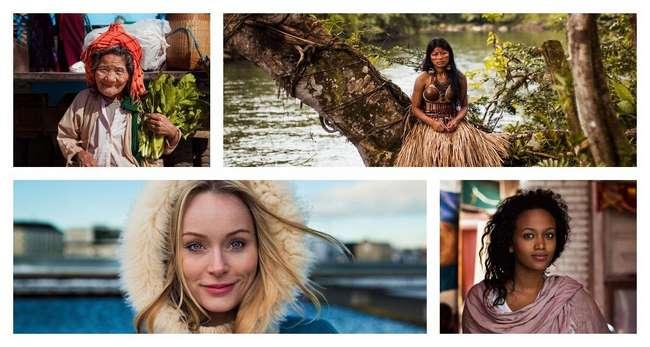 Коллекция фотографий прекрасных женщин со всего мира