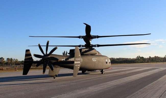 Первые кадры сверхбыстрого вертолета SB>1Defiant, который может прийти на смену знаменитому Black Hawk (фото + видео)