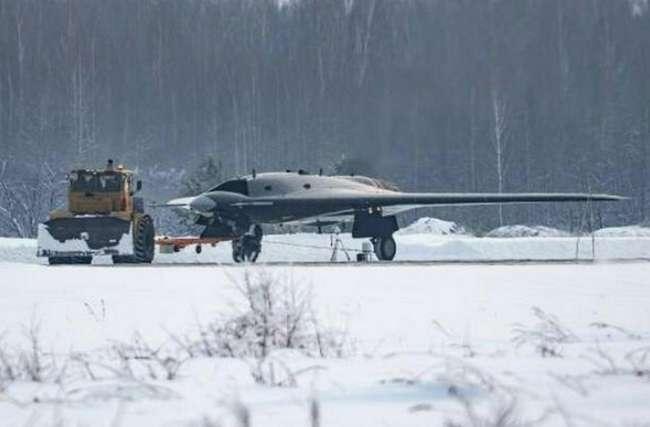БПЛА «Охотник»: первые фото ударного тяжелого беспилотника