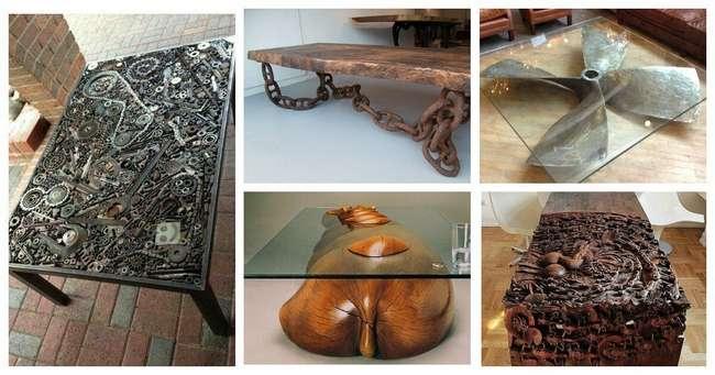 Необычные столы-мечта, от которых вы точно будете в восторге
