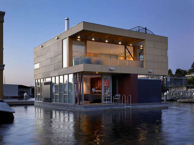 Плавающий дом в Сиэттле (11 фото)