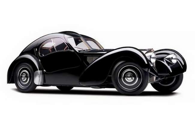 Редчайший Bugatti Type 57SC Atlantic стоимостью $40 млн из коллекции Ральфа Лорена (9 фото)