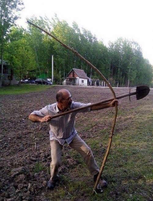 Смешная картинка лопаты