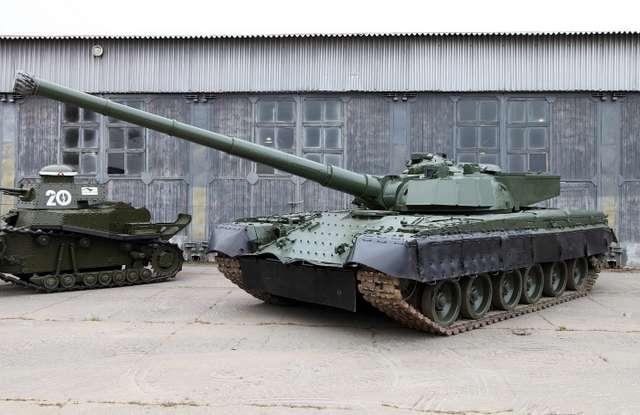 Экспериментальные прототипы советской бронетехники