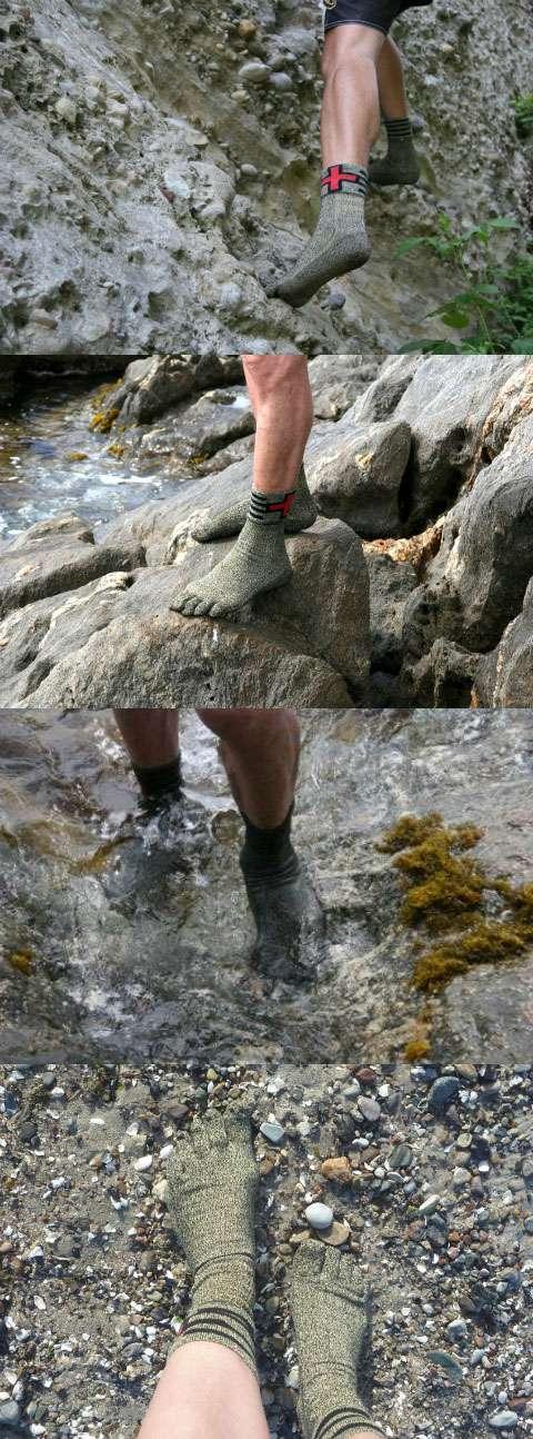 Швейцарские защитные носки, заменяющие обувь
