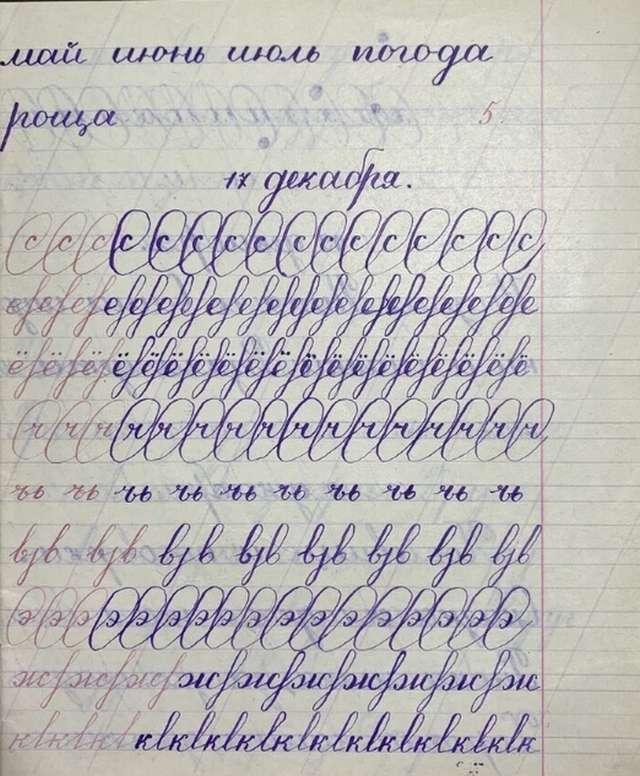 Чистописание &8212; совершенство в руках школьника