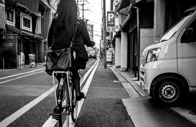 Эти няшные японские машинки и удивительные улицы глазами жителя Киото