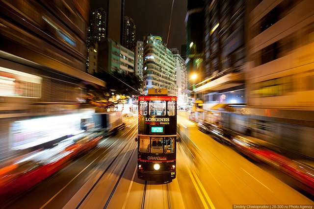 Гонконгский трамвай (32 фото)
