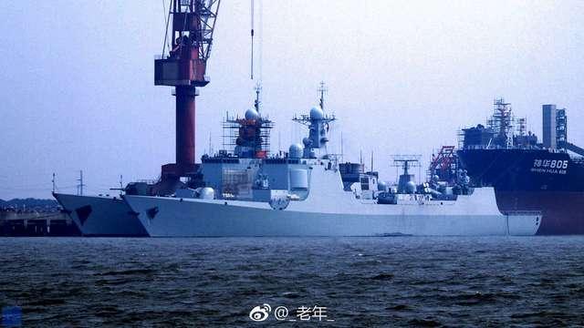 О впечатляющих темпах строительства надводных боевых кораблей в Китае