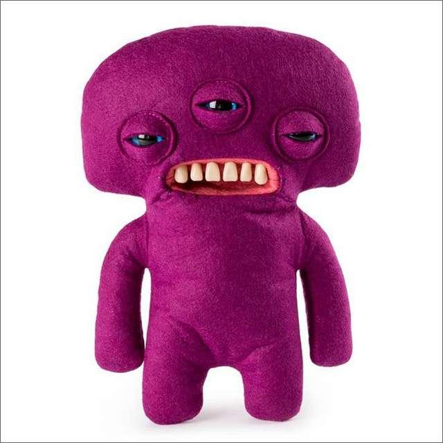 Мягкие игрушки-монстры Fugglers с человеческими зубами