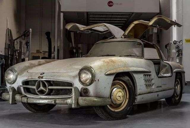 С виду эксклюзивный Mercedes-Benz 300SL пока никак не тянет на 2 миллиона долларов (8 фото)