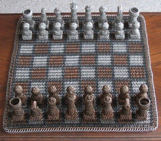 Эксклюзивные шахматы (6 фото)