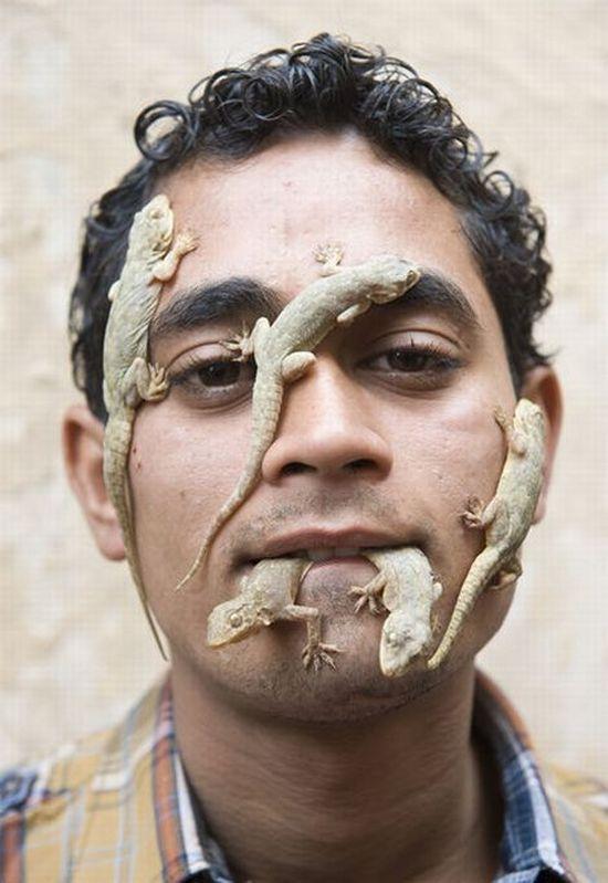 Человек-ящерица (5 фото)