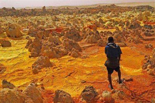 Даллол: самое жаркое обитаемое место на Земле (12 фото)