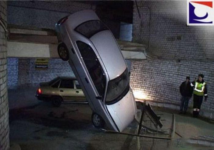 Автомобильные неудачи (26 фото)