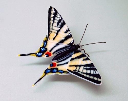 Стеклянные бабочки Лауры Харт (11 фото)