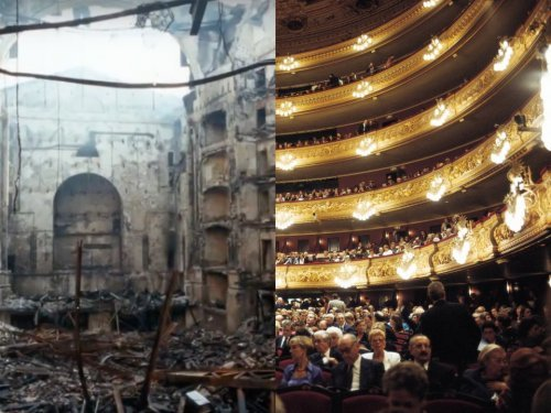 Известные здания по всему миру, которые были восстановлены после разрушительных событий (8 фото)