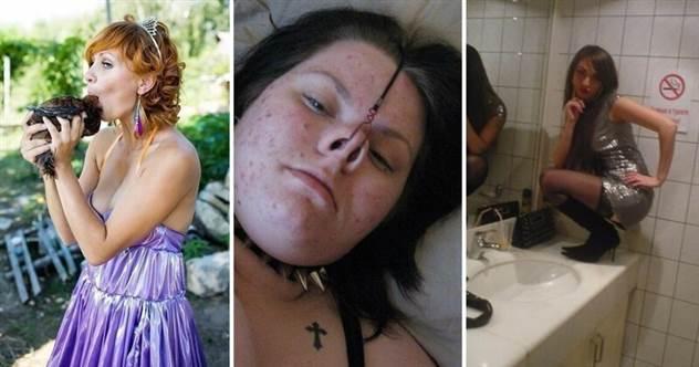 Одиночество — скука: выходки девушек, которых никак не заберут замуж ( 21 фото )