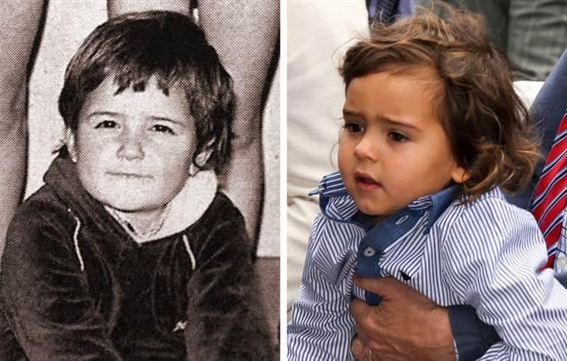 12 пар звезд и их детей в одном и том же возрасте ( 13 фото )