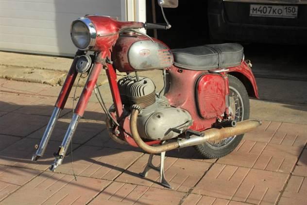 Восстановление мотоцикла Ява 360 -Старушка- ( 16 фото )