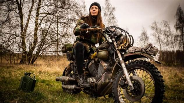 PlayStation Nordic воссоздала мотоцикл из Days Gone в реальной жизни ( 8 фото + 1 видео )