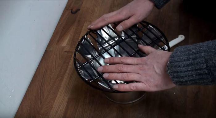 Как в считанные минуты сделать мангал, если захотелось шашлыка (5 фото + видео)