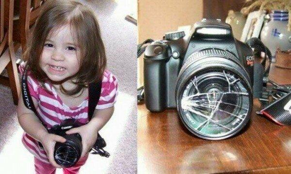 Шебутные детки, которых родители упустили из виду(25 фото)