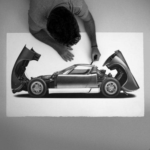 Гиперреалистичные рисунки Алессандро Пальи, которые можно принять за фотографии (13 фото)