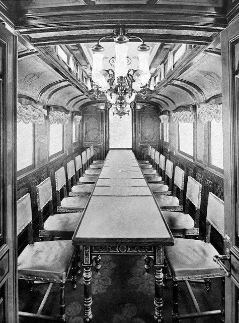 Редкие фото императорского поезда, в котором жил и путешествовал Николай II