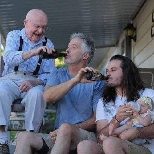 Отцовские будни в прикольных картинках (19 фото)