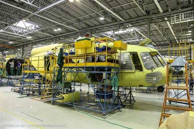 Великие заводы России: Казанский вертолетный завод ( 14 фото )