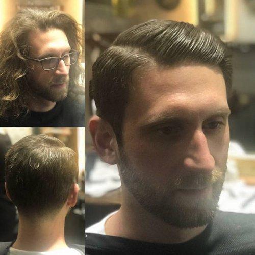 15 парней, которые решили расстаться с длинными волосами и правильно сделали