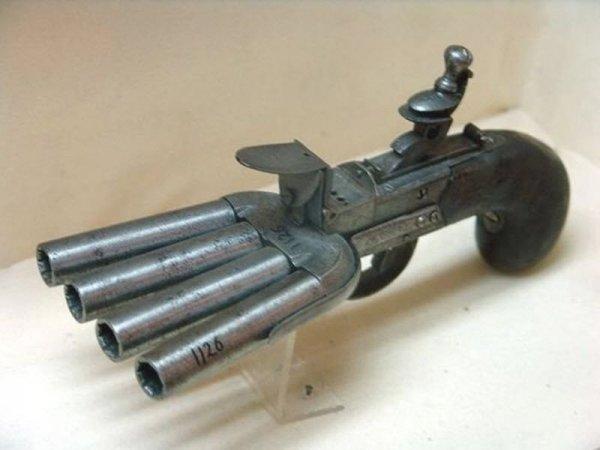 Самое необычное огнестрельное оружие