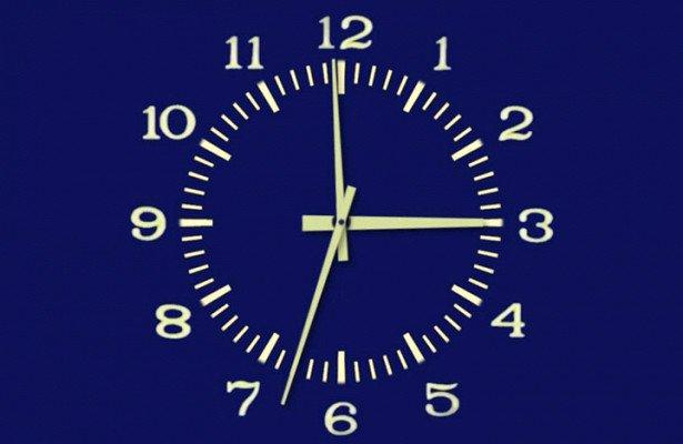 Знаменитые синие часы из телевизора россиян