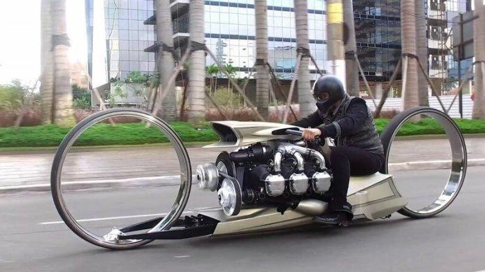 Самые уникальные и необычные мотоциклы со всего мира
