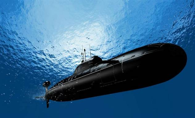 Фальшивая торпедная атака: как американцы ловили подлодку СССР ( 3 фото )