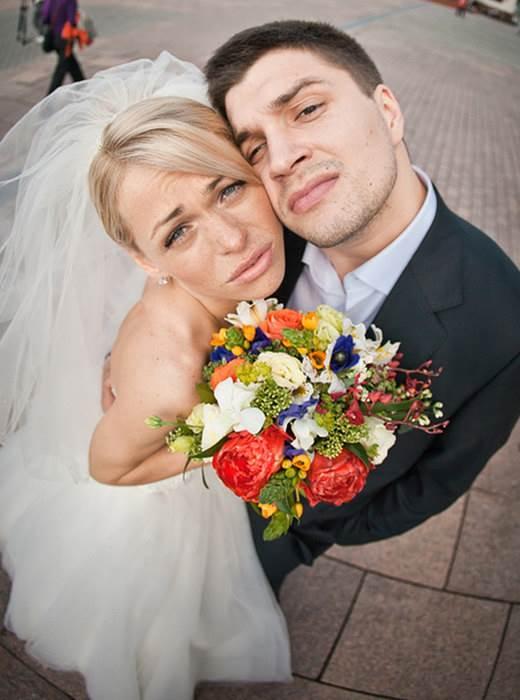 Самые короткие браки российских знаменитостей ( 8 фото )