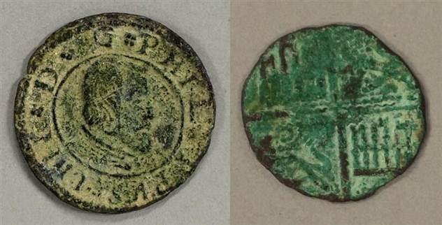 В штате Юта найдены старинные испанские монеты, которые отчего-то взбудоражили ученых мира ( 3 фото )