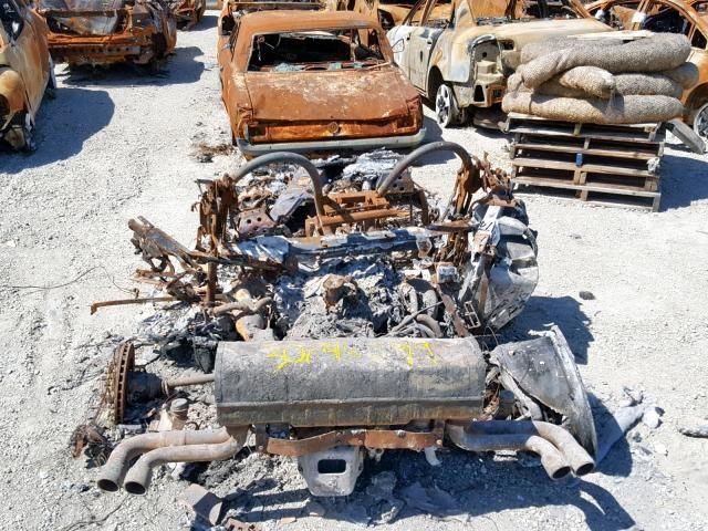 Ржавые обгоревшие обломки Ferrari ушли с молотка за $101 500