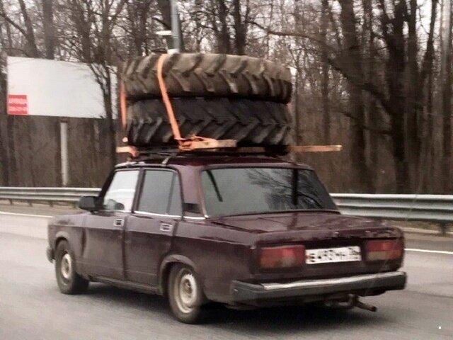 Когда перевозят всякую всячину (30 фото)