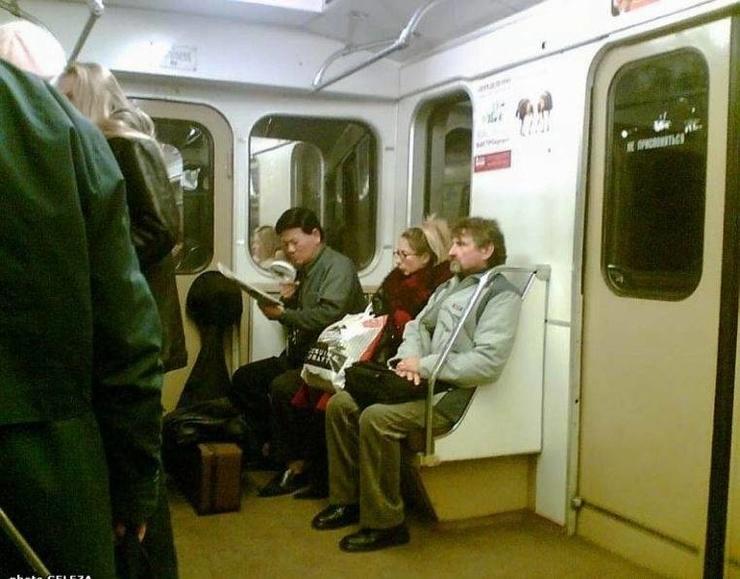 Чудные люди из метро (30 фото)