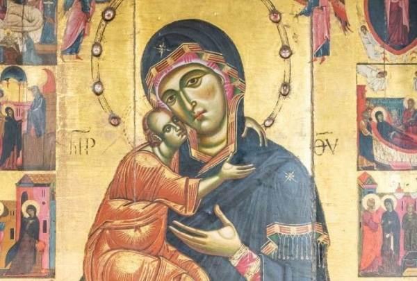 Почему в Средние века младенцев на иконах изображали уродливыми стариками? ( 3 фото )