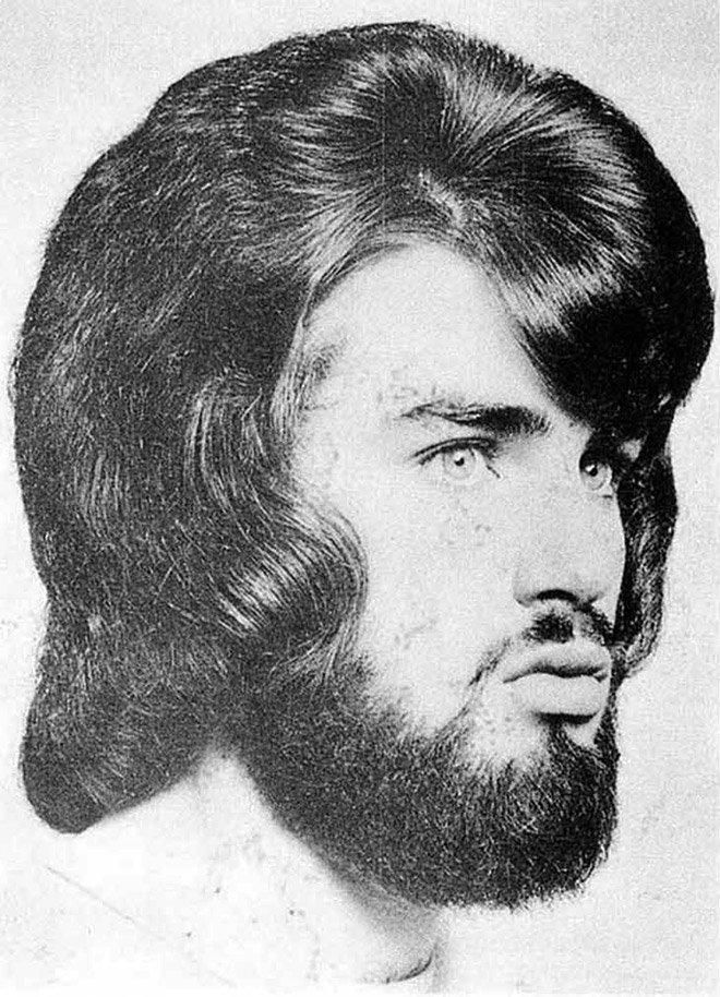 Романтический период мужских причёсок в 1970-е годы