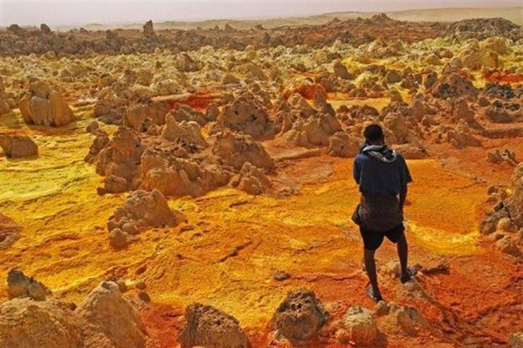 Даллол: самое жаркое обитаемое место на Земле (11 фото)